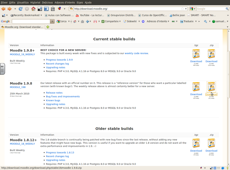 Fitxer:Captura-Moodle.org Download standard packages - Mozilla Firefox.png