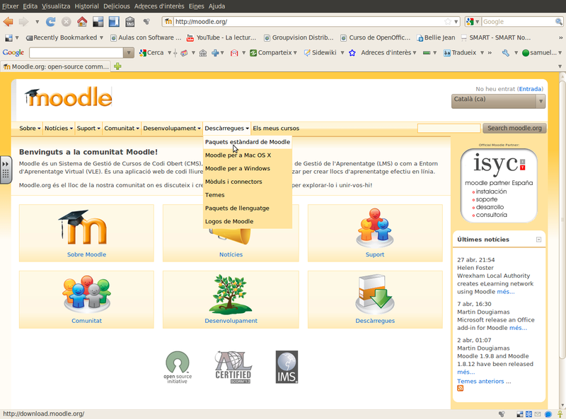 Fitxer:Captura-Moodle.org open-source community-based tools for learning - Mozilla Firefox.png